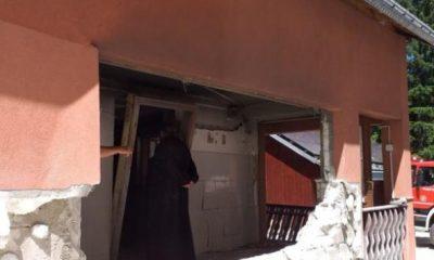 Explozia de la Manastirea Sihăstria Rarăului